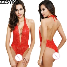 Buy ZZSYKD Sexy Female Lingerie Women G-String Thongs Briefs Strapon Open Crotch Panty Ladies Lace Thong Erotic Underwear Fetish
