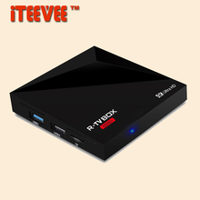 5PCS R-TV BOX MINI PLUS Rockchip RK3328 Quad Core Android 7.1 TV Box 1GB/8GB set top box 4K mini PC box Support USB 3.0 A5X V6