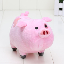 16cm Gravity Falls Plush Toys Cute Pink Pig Waddles Stuffed Toy Kids Gift Free shpping