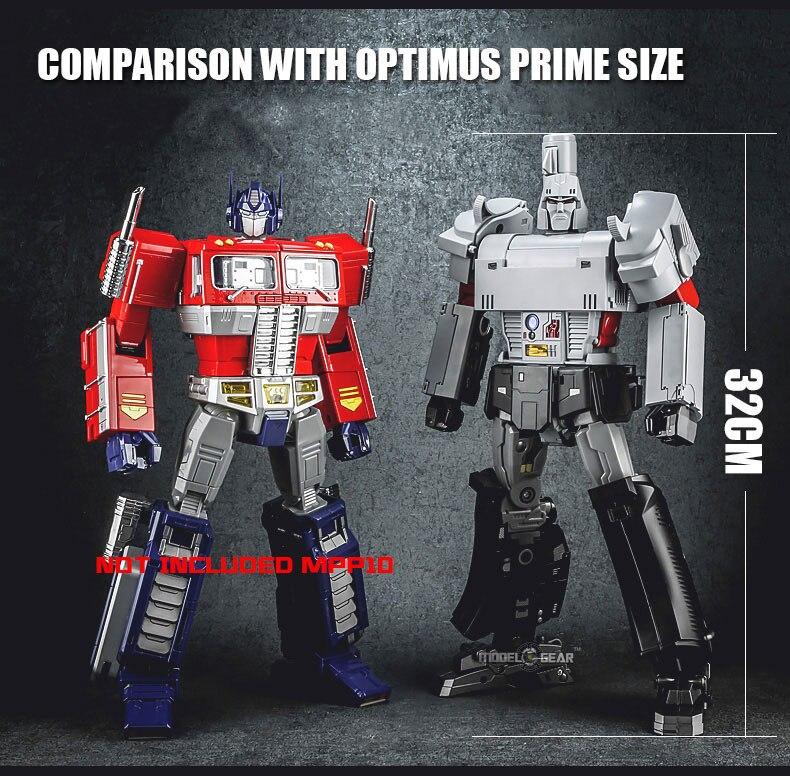Weijiang MPP36 Megamaster Alloy Robot Deformation Transformation Action Figure