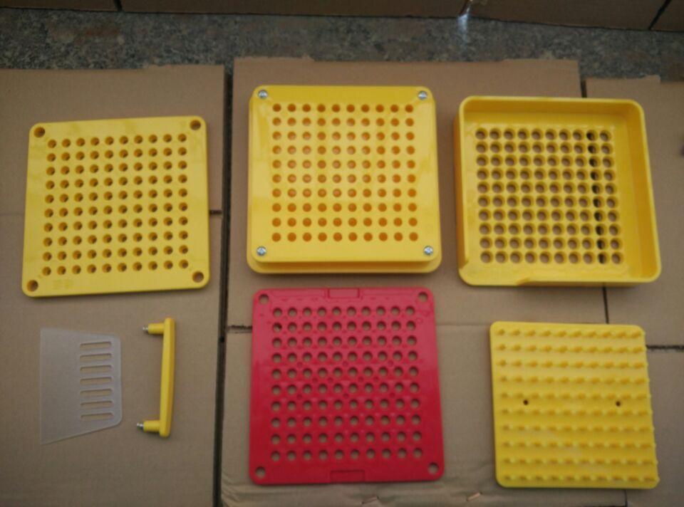 (0# Capsule)100 holes ABS material manual capsule fillers,capsule filling machine,capsulator with tamping tool( 6 parts in all)<br>