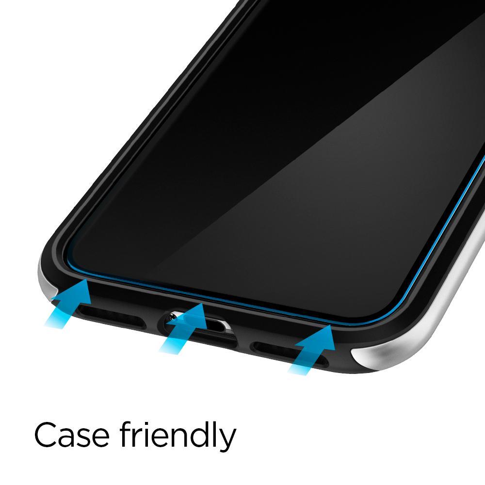spigen glas.tr slim for iphone xs max / xs / x / xr