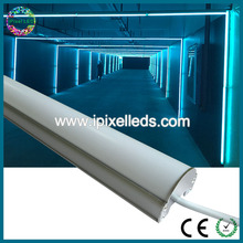 Dmx led rgb meteor tube light outdoor led tube light magic vertical tube(China)