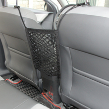 Universal Vehicle Car Tiding Bags Truck Net Bag Mesh Cargo Net Storage Luggage Organizer Holder with 4 Hooks