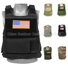 BlackHawk FBI SWAT Military Molle Combat Vest Strike Plate Carrier Paintball Body Armor Vests Hunting Training Tactical Vest