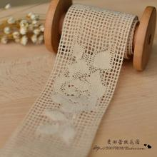 DIY lace cotton export fine qualities Rose Lace (5cm)(China)