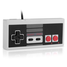 Classic Gaming USB Cable Controller Gamepad Game Pad for Nintendo NES Windows PC Mac