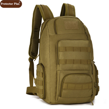 Protector Plus 40L Backpacks Double-Shoulder Multifunction Women Bag Army Combination Package Travel Large Backpack Men D551