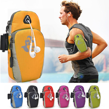 Free Knight 5.5inch Waterproof Running Jogging GYM Protective Phone Bag Wrist Pouch Arm Bag Men Women Running Accessories 6color