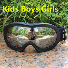 Child Boys Girls Snowboard goggles Kids Ski Goggles Eyewear Double UV400 anti-fog skiing mask glasses 4-15 Years