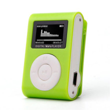 Hot sale & Wholesale! NC1888 Vogue High Quality Mini USB Clip MP3 Player LCD Screen Support 32GB Micro SD TF Card NOJL28
