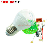 Free Shipping! Energy-Saving 38 LEDs Lamps DIY Kits Electronic Suite