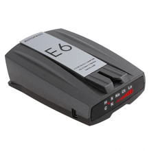 "New 2016 E6 Cobra Car Radar Detector 1.5"" LCD Display Radar Laser Speed Detector With Russian Voice Support X K KU KA"