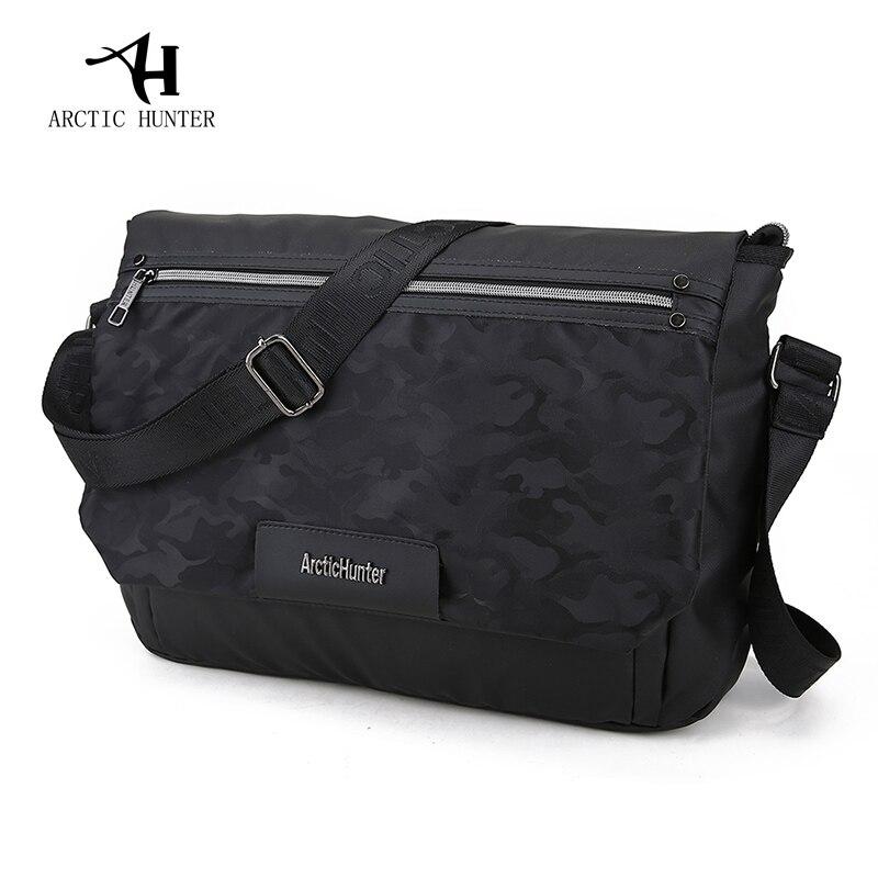 ARCTIC HUNTER New Crossbody Bags for Men Waterproof Laptop Messengers Bag Business Casual Shoulder Bags Male Student Schoolbag<br>