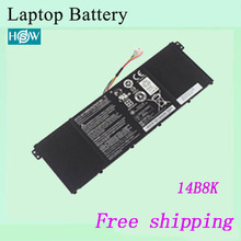 High quality Original Laptop Battery For ACER AC14B8K AC14B18J  15.2V 3220mah