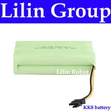 (For KK8) Battery for Robot Vacuum Cleaner, DC14.4V, 1500mAh, Ni-MH, 1pc/pack