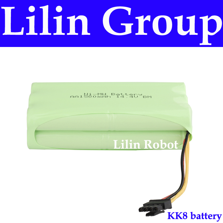 (For KK8) Battery for Robot Vacuum Cleaner, DC14.4V, 1500mAh, Ni-MH, 1pc/pack<br>
