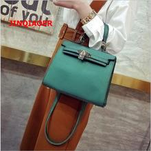 Luxury Brand Women Shoulder Bgs 2017 New Fashion Women Handbags PU Leather Top Handle Bags Woman Messenger Bag With