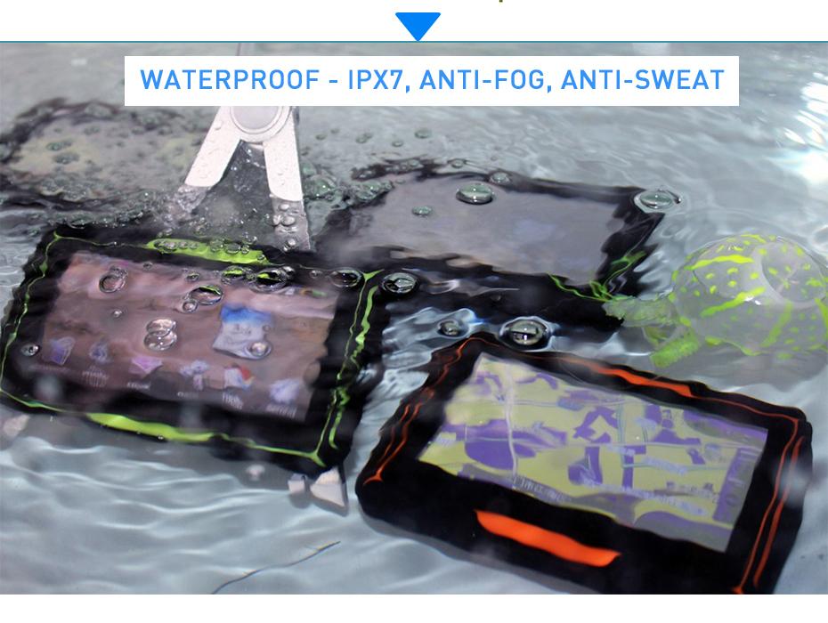 GPS navigation waterproof IPX7