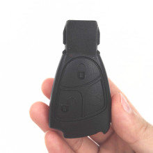 3 Buttons Smart Car Key Shell for Mercedes-Benz,MB with logo