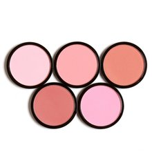 6 Colors Blush Palette Cosmetics Makeup Face Makeup Monochrome Blush / Replacement Sweet Bare Cosmetics Make Up Blusher BTD