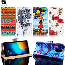 TAOYUNXI Mobile Phone Cases Covers For Leagoo M5 M8 M8 Pro PU Leather Flip Bag For Leagoo M8 Leagoo M8 Pro Case Cover Housing(China)
