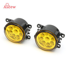 2PCS H11 55W Yellow LED Driving Light Fog Light Lamp Assy Bulb For Ford/Focus 2007-2014