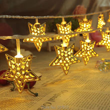 3M 30 LEDs Star led string lights Christmas Lights Holiday Wedding Party Decotation Strobe Night Lights(China)