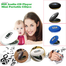 Hifi Audio CD Player Mini Portable CD611 CD Players With LED Display ZGPAX(China)
