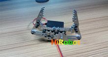 Full Metal Robotic Arm Gripper Robot Mechanical Claw H3,Compatible with MG996R etc. servo for Robot hand Design, DIY,study demo