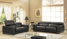 designer modern style top graded cow genuine leather corner living room sofa set suite home furniture 2+3 seater