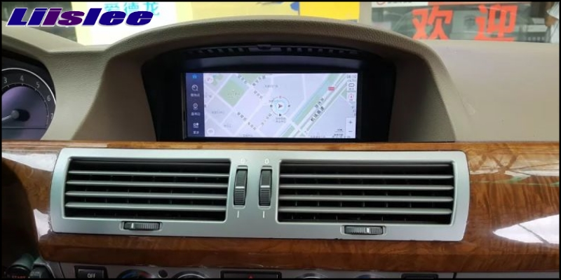 Liislee For BMW 7 E65 E66 2002~2009 Car Multimedia GPS Audio Media Radio Stereo Navigation Player NAVI 7