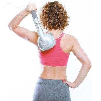 KIKI Beauté monde Nouveau style 4 têtes masseur bâton avec ion 2 réglages de vitesse corps masseur 2017 vente chaude des tissus profonds masseur