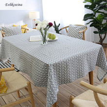 Free Shipping Gray Arrows Tablecloth Home/Hotel/Diner Table Cover Mantel De Mesa Multifunction Printed flax Covered Cloth Nappe(China)