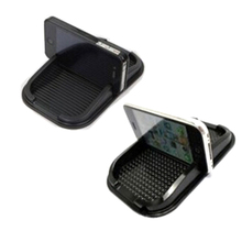 Car Anti Slip pad Rubber Mobile Sticky stick Dashboard Phone Shelf Anti non slip Mat  holder For GPS MP3 Car DVR