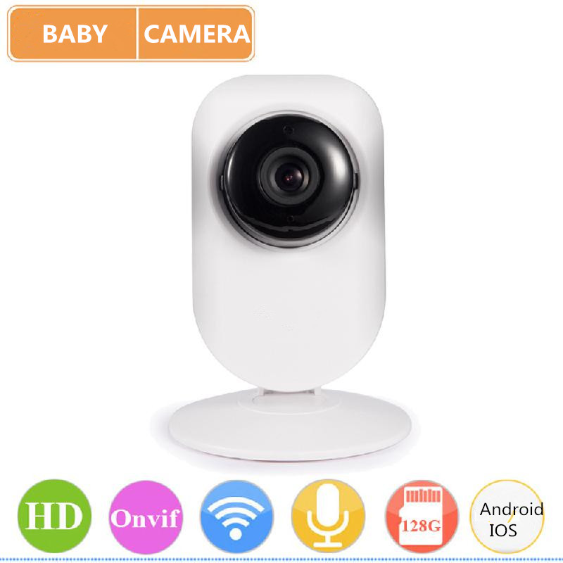 SUNLUXY WiFi IP Camera Wireless 720P HD Baby Monitor Onvif IR-cut Night Vision Motion Detection Surveillance Cameras<br>