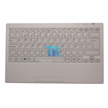 New Original VGP-WKB16 Portugal Keyboard for SONY Laptop Wireless Keyboard White Color