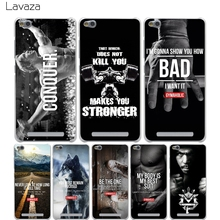 Lavaza Loving Bodybuilding Gym Fitness Cover Case for Xiaomi Redmi Note Mi 3 3S 4X 4 4A A1 5 5A 5S 5X MI5 MI6 Pro Plus Cases(China)
