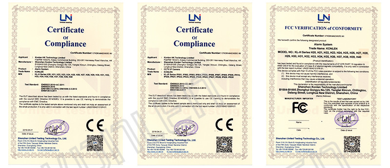 CE Rohs Certification