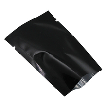 Free Shipping 6*9cm 200Pcs/Lot Open Top Black Aluminum Foil Plastic Package Bags Vacuum Pouches Food Storage Heat Seal Mylar Bag