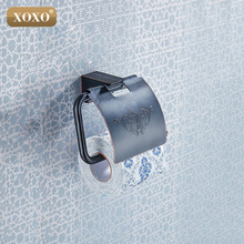 XOXOToilet Paper Holder ,Roll Holder,Tissue Holder,Solid Brass Antique Finished-Bathroom Accessories Products 18086H