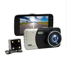 Buy Car DVR 4 Inch IPS Screen Auto Camera Dual Lens FHD 1080P Dash Cam Video Recorder Night Vision G-sensor Registrator for $4.78 in AliExpress store