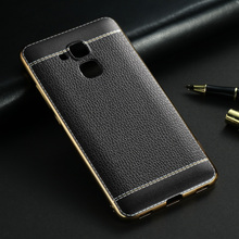 TPU Leather Mobile Phone Cases For Huawei Honor 5C GT3 Honor 7 Lite GR5 Mini Honor5C Honor7 Lite Covers Back Bags Housing Hood