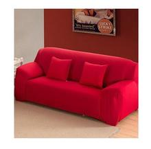 1/2/3/4 set Spandex Stretch Sofa cover Big Elasticity 100% Polyester Couch cover Furniture Cover pure color Machine Wash