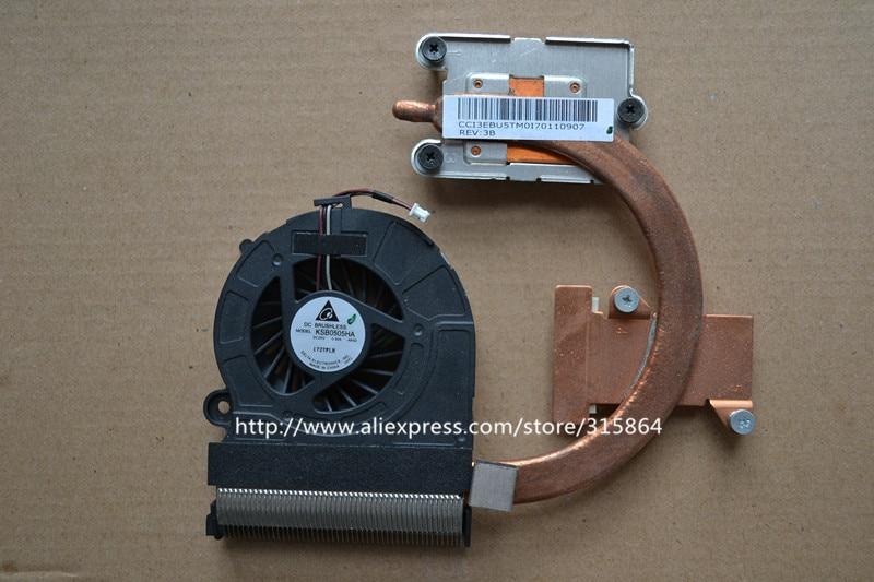 New laptop fan for Toshiba L730-K03B L730-T20W T08W with heatsink KSB0505HA cpu cooler fan<br>