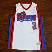 MM MASMIG Calvin Cambridge #3 Knights Basketball Jersey Stitched White Like Mike XS S M L XL XXL(China)