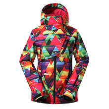 2016 Hot Sale Thicken Cheap Lady Winter Snowboarding Breathable Coat Outdoor Wear Women Windproof Ski Jacket Best Quality