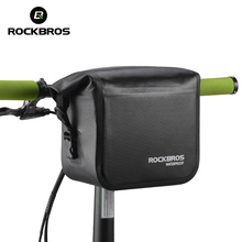 ROCKBROS Mtb Bike Front Bag 4L Waterproof Handlebar Bag Bicycle Frame Bag Front Tube Pocket Shoulder Pack bmx Bike Accessories(China)