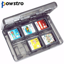 28 in 1 Game Protective Card Case Holder Cartridge Box Anti-dust Waterproof Box for Nintendo DS Lite 3DS Video Game Cards(China)