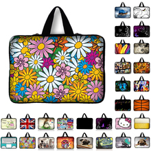 Portable Laptop Bag For Macbook 10 11.6 13.3 14.4 15.4 15.6 17 17.3 inch Netbook Zipper Sleeve Case Tablet Cover computer Bags(China)